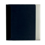 Pioneer - Space Saver - 2-Up Poly Photo Album - 72 Slip-In Pockets - Black