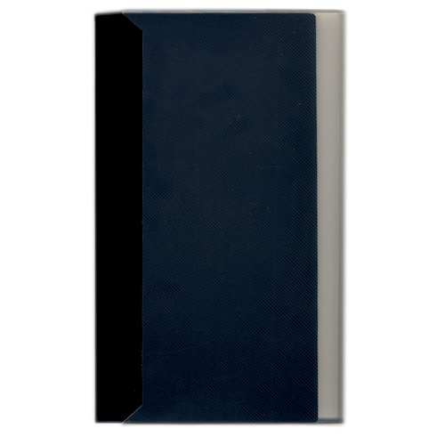 Pioneer - Space Saver - 3-Up Poly Photo Album - 144 Slip-In Pockets - Black