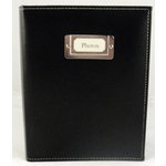 Pioneer - Carde Sewn Photo Album - 208 4x6 Inch Photo Pockets - Black - 2 Up Album