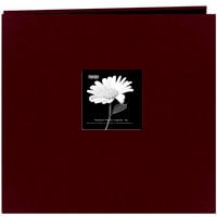 Pioneer - EZ Load Memory Album - 12 x 12 - 20 Top Loading Pages - Natural Color Fabric Frame - Sweet Plum