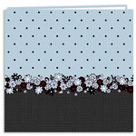 Pioneer - EZ Load Memory Album - 12 x 12 - 20 Top Loading Pages - En Vogue Designer - Polka Dot Buds