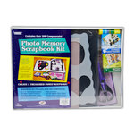 Pioneer - 12 x 12 Photo Memory Scrapbook Kit - Navy Blue