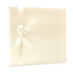 Pioneer 12 x 12 Memory Book - Diamond Fabric Cover - Ivory