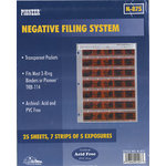 Pioneer - Negative Filing System - 25 Sheets - Holds 7 Strips of 5 Exposures
