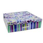 """Pioneer - 12"""" x 12"""" Scrapbooking Storage Box - Funky Flowers"""