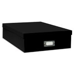 "Pioneer - 12"" x 12"" Scrapbooking Storage Box - Black"