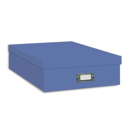"Pioneer - 12"" x 12"" Scrapbooking Storage Box - Sky Blue"
