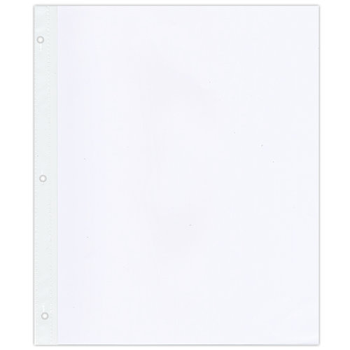 Pioneer - 12 x 15 Page Refills - Page Protectors - 5 Pack