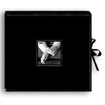 Pioneer - 12x12 Sewn Scrapbook Box - Stitched - Black