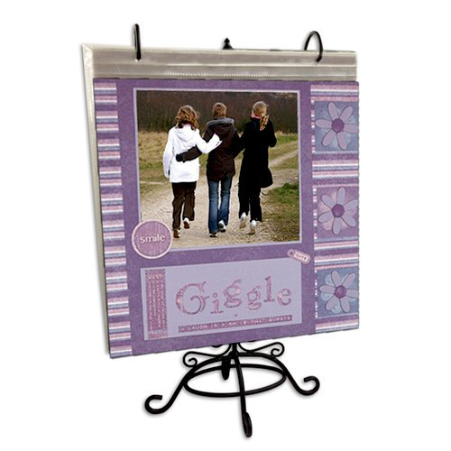Pioneer - Scrapbook Page Stand - Black Metal