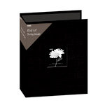 Pioneer - 3 Ring Binder - 8.5 x 11 - Cloth Scrapbook - Black