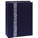 Pioneer - Tone Fabric Sewn Album - Hold 208 4x6 Inch Photos - Black - 2 Up Album