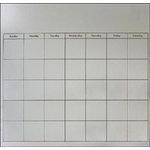 Paper Accents - 12 x 12 Calendar - Tin