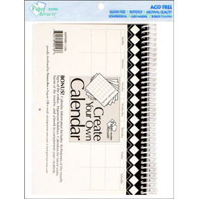 Paper Accents - Create Your Own Calendar - 5.5 x 8.5 - 14 Month