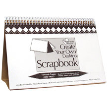 Paper Accents - Create Your Own Scrapbook - Desktop -  5.5 x 8.5 - White