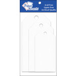 Paper Accents - Craft Tags - Assorted Sizes - White