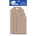 Paper Accents - Craft Tags - Assorted Sizes - Kraft