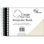 Paper Accents - Create Your Own Keepsake Book - 4.5 x 6.5 - White Cover