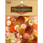 Buttons Galore - Haberdashery Buttons - Classic Yellow and Orange