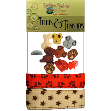 Buttons Galore - Trims and Treasures - Puppy Love