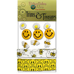 Buttons Galore - Trims and Treasures - Bee Happy