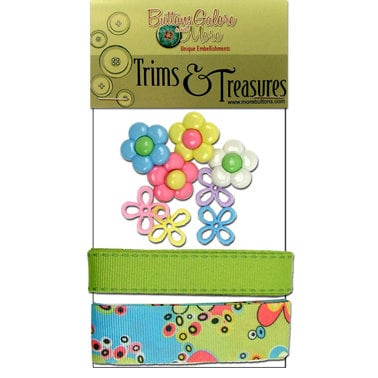 Buttons Galore - Trims and Treasures - Spring Fling