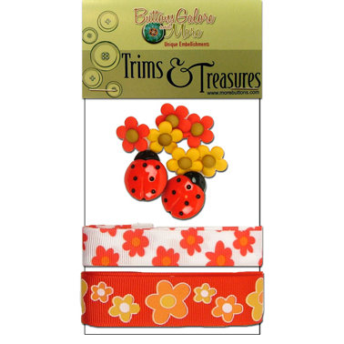 Buttons Galore - Trims and Treasures - Summer Blooms
