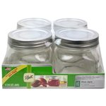 Ball Jar - Wide Mouth Pint Elite - 4 pack