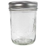 Ball Jar - Wide Mouth Pint - 12 pack