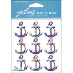 EK Success - Jolee's Boutique - 3 Dimensional Stickers - Anchors Repeat