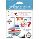 EK Success - Jolee's Boutique - 3 Dimensional Stickers - Sailing