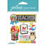 EK Success - Jolee's Boutique - 3 Dimensional Stickers - Teacher