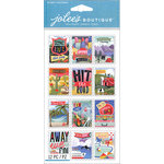 EK Success - Jolee's Boutique Le Grande - 3 Dimensional Stickers - Travel Stamps
