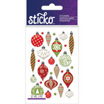 EK Success - Sticko - Epoxy Stickers - Mini - Christmas Ornaments