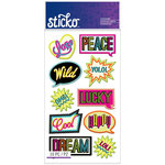 EK Success - Sticko - Stickers - Words - Neon