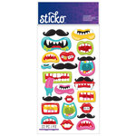 EK Success - Sticko - Stickers - Funny Mouths and Mustaches