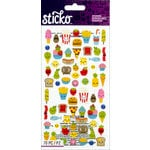 EK Success - Sticko - Stickers - Mini - Food Characters
