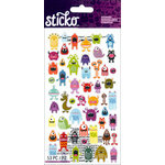EK Success - Sticko - Stickers - Mini - Monsters