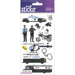 EK Success - Sticko - Stickers - Police Officer and Cars