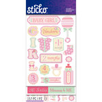 EK Success - Sticko - Sticker Flip Pack - Baby Girl