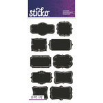 EK Success - Sticko - Chalkboard Stickers - Frame Labels