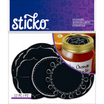 EK Success - Sticko - Stickers - Chalkboard Labels - Mason Jar