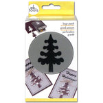 EK Success - Paper Shapers - Slim Profile - Large Punch - Forest Tree