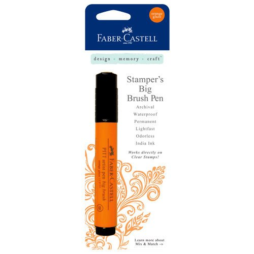 Faber-Castell - Stampers Big Brush Pen - Orange Glaze