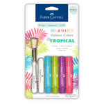 Faber-Castell - Mix and Match Collection - Color Gelatos - Tropical - 4 Piece Set