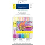 Faber-Castell - Mix and Match Collection - Color Gelatos - Brights - 15 Piece Set