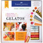 Faber-Castell - Mix and Match Collection - Kit - Mixed Media with Gelatos