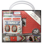 K and Company - 8 x 8 Scrapbook Kit - Family