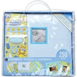 K and Company - 12 x 12 Scrapbook Kit - Baby Boy