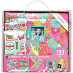 K and Company - 12 x 12 Scrapbook Kit - Floral